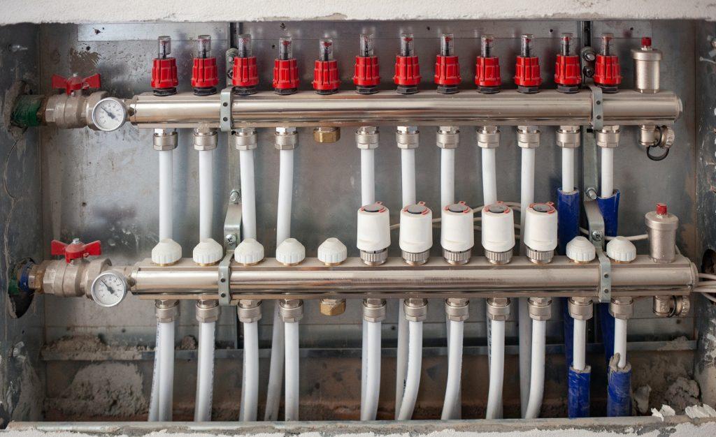 Radiant Floor Heating Installation Heating System.